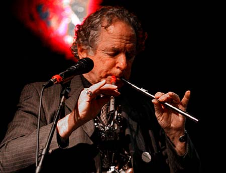 The Grand Pied Piper himself, David Amram - Click Here To learn More About David Amram!- Photo by Jeremy Hogan.