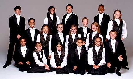The Colorado Children's Chorale  - Click Here To Learn More about this most talented group!